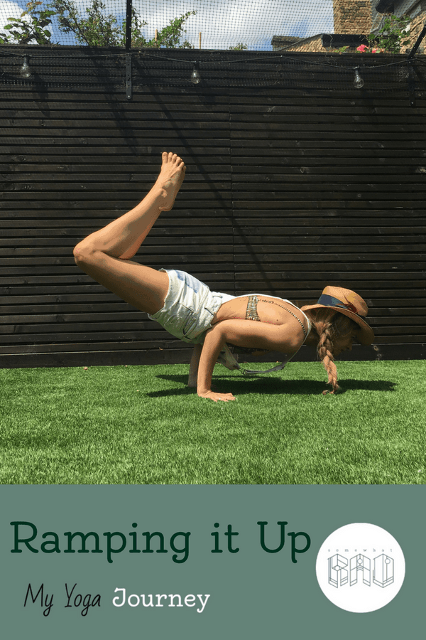 Find out how I'm building up my yoga practice