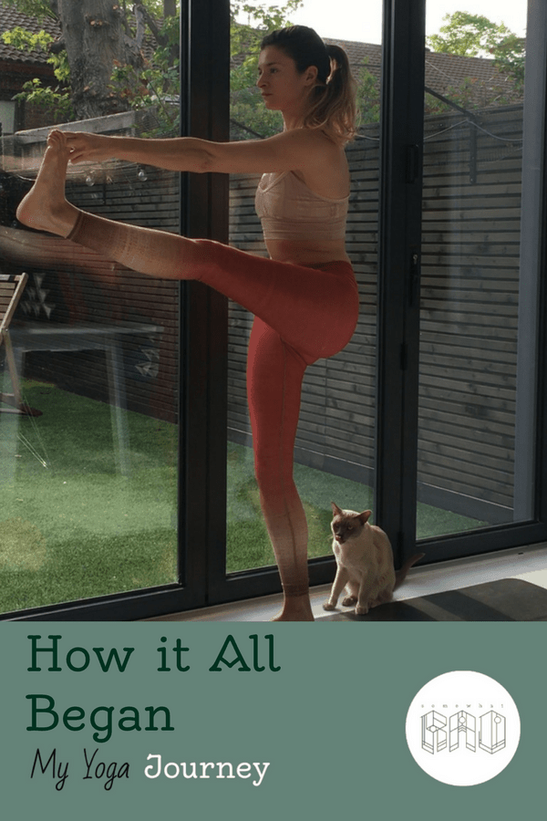 Find out how my yoga journey began