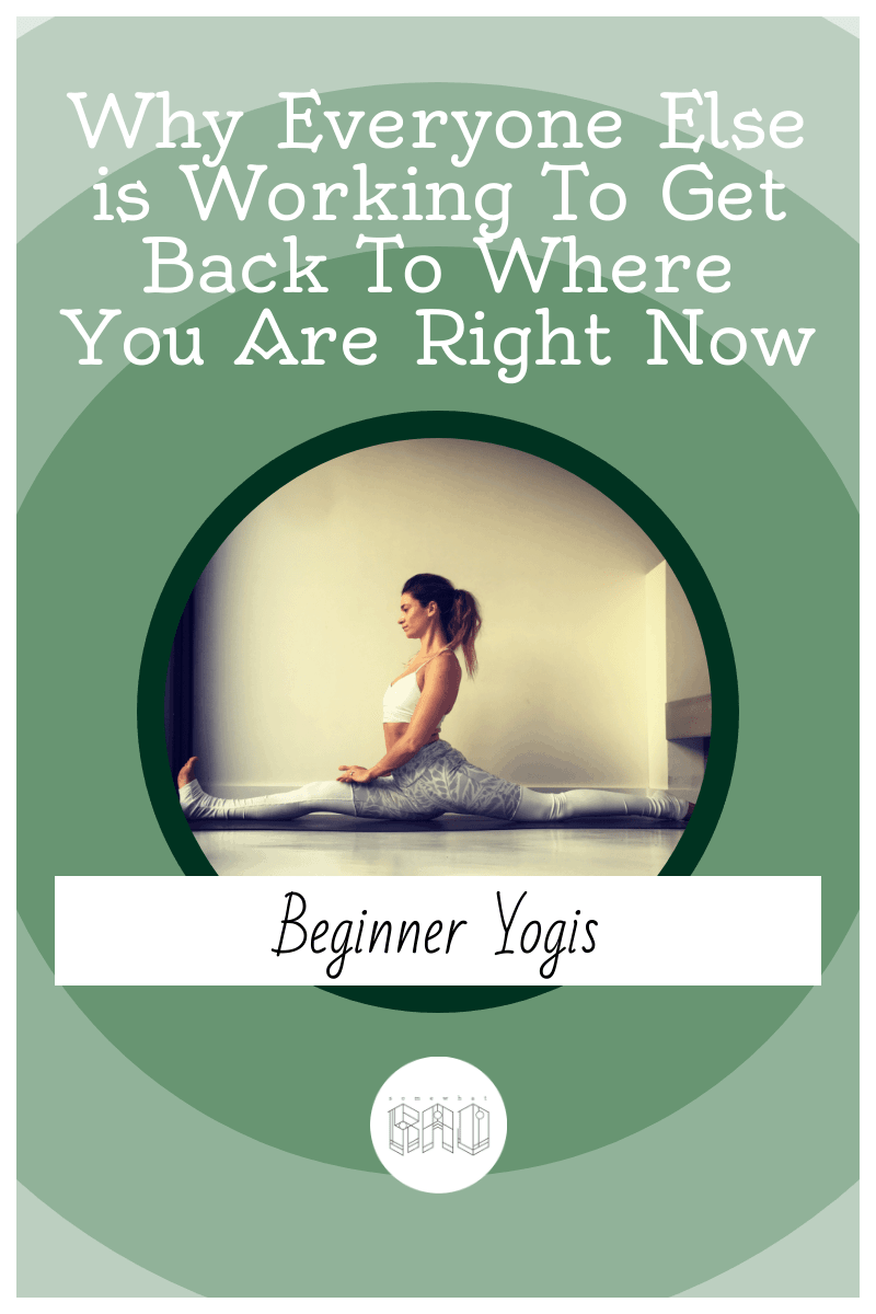 Everyone starts out as a beginner at yoga, but there are some real benefits to being a beginner, find out what they are
